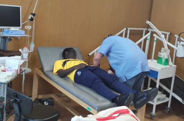 medical examinations for players