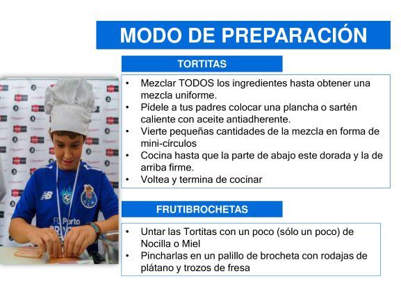 Nutrición en Escuela de Fútbol en España