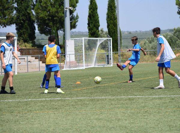 campamento fútbol verano