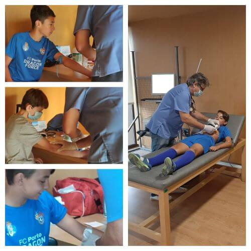 Health measures COVID19 Football Camps in Spain