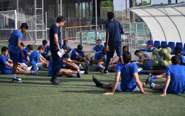 camp de football de haute performance