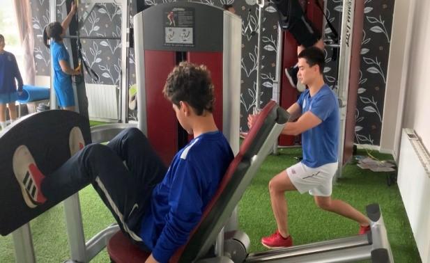 entrenamiento de fuerza en el fútbol