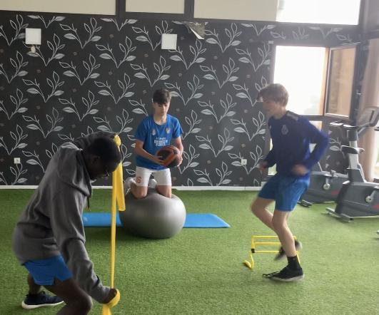 entrenamiento de fuerza futbol