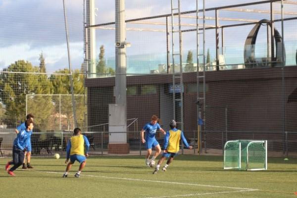 entrenamientos juvenil nacional y tercera division