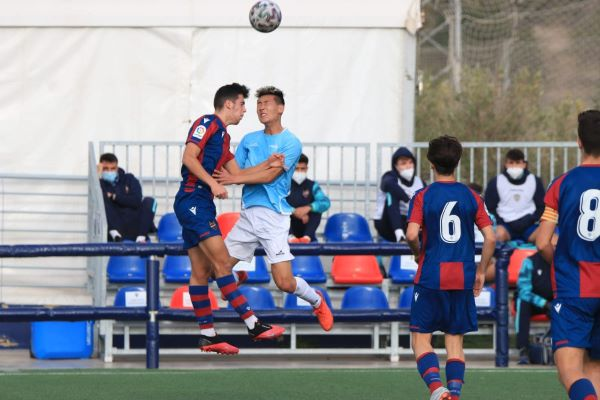 football match Levante UD national youth