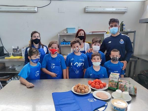 grupo taller de cocina campus futbol