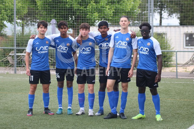 debut 3 division jugadores SIA Academy
