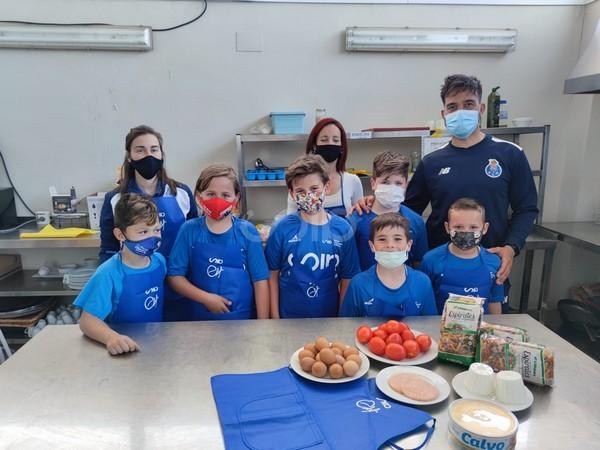 nutrición academia de futbol