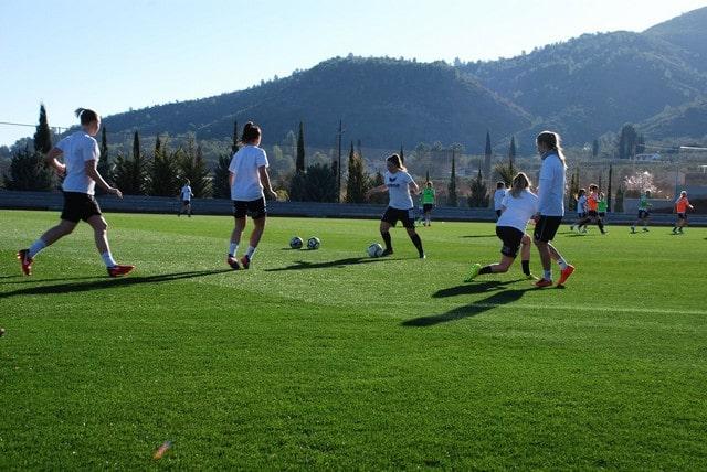 futbol femenino en España