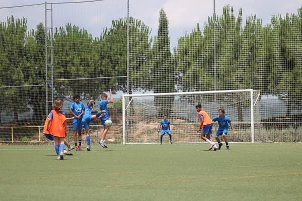 campamento de futbol verano  2021